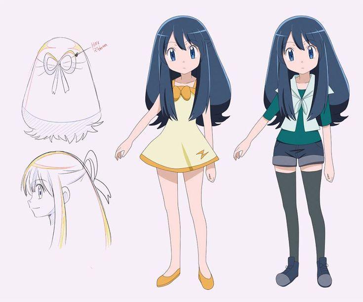 Kaori - Pokemon OC by KurumiErika                                                                                                                                                                                 Mais
