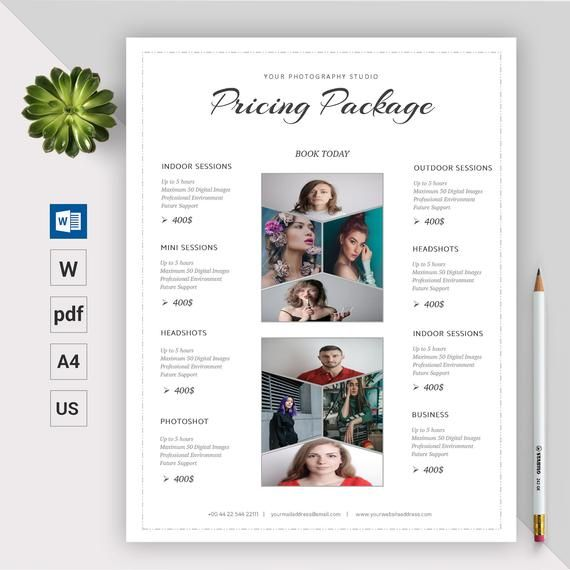 Photography Pricing Template Photography Price List Etsy Photography Price List Photography Pricing Template Photography Pricing