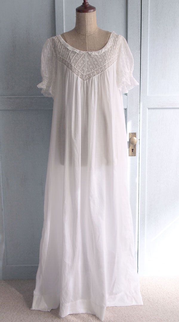 Old fashioned night gown