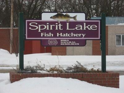 Spirit Lake Fish Hatchery