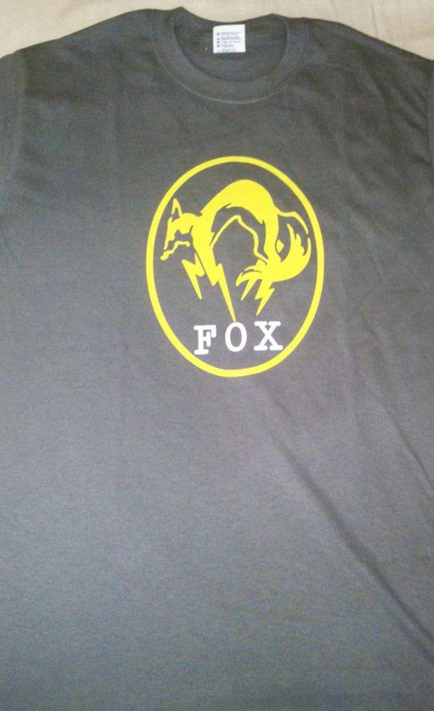 Original Metal Gear Solid The Phantom Pain Fox Logo T-Shirt (Size: S)…