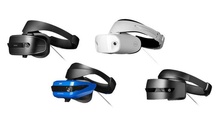 Windows Mixed Reality headsets from device partners