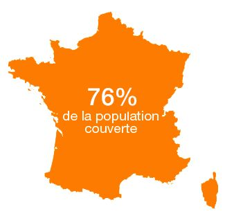 Orange couvre désormais 76 % de la population en 4G - http://www.frandroid.com/telecom/297275_4g-orange-couvre-desormais-76-de-population  #Telecom