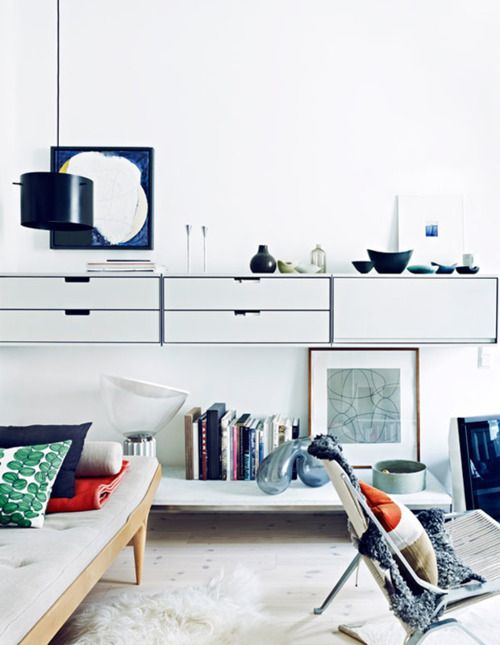 scandinavian: Mid Century Modern, Interiors Photography, Dreams Living Rooms, Wall Storage, Jonas Ingerstedt, Interiors Design, Storage Ideas, Swedish Photographers, Modern Apartment