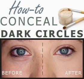 PinTutorials: How-to Conceal Dark Circles
