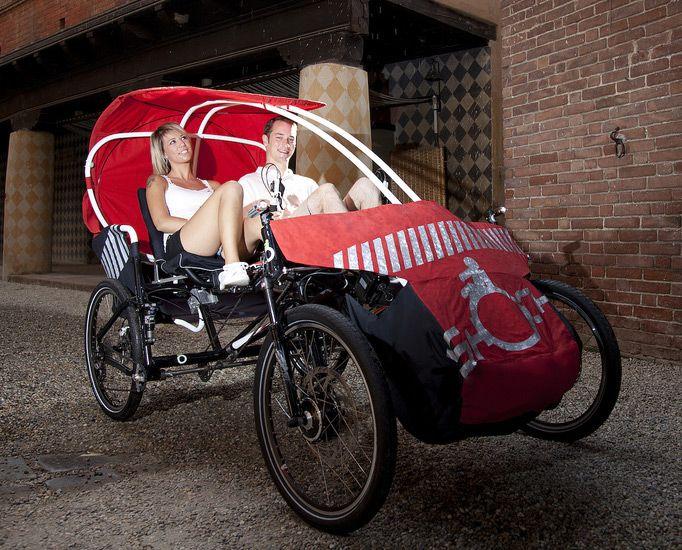 Rishock electric quadricycle
