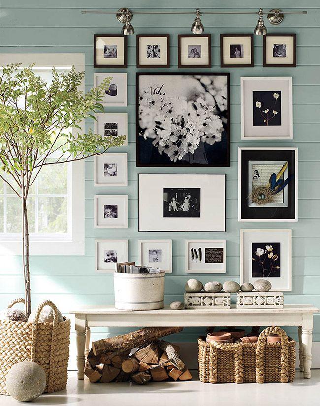 Si decoras con fotos, asegúrate que la impresión esté nítida y no se vea borrosa o pixelada. A la hora de hacer la selección piensa en quién las va a ver. Probablemente si están en el hall de entrada las vean más personas que si están en tu dormitorio.