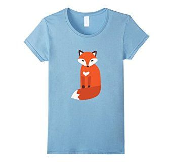Amazon.com: Women's Vector cute fox t-shirt Small Baby Blue: Clothing #fox #love #animals #animal #rescue #save #adopt #dont #shop #foxes #wild #gift #cute #tshirt #shirt #tee