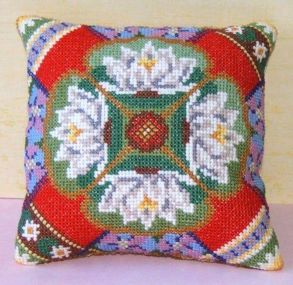 July Mini Cushion Cross Stitch Kit