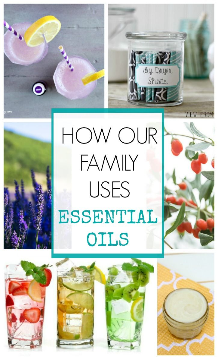 How Our Family Uses Essential Oil for a happier, healthy life! | View From The Fridge