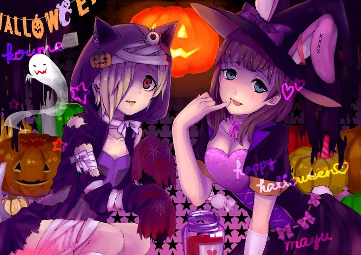 halloween anime | Halloween Anime_Girl - Anime Photo (32629259 ...