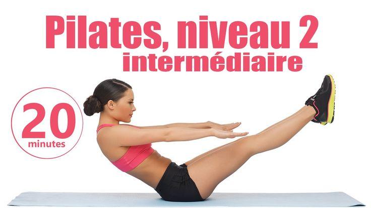 Pilates niveau 2 intermédiaire - Cours de Fitness complet