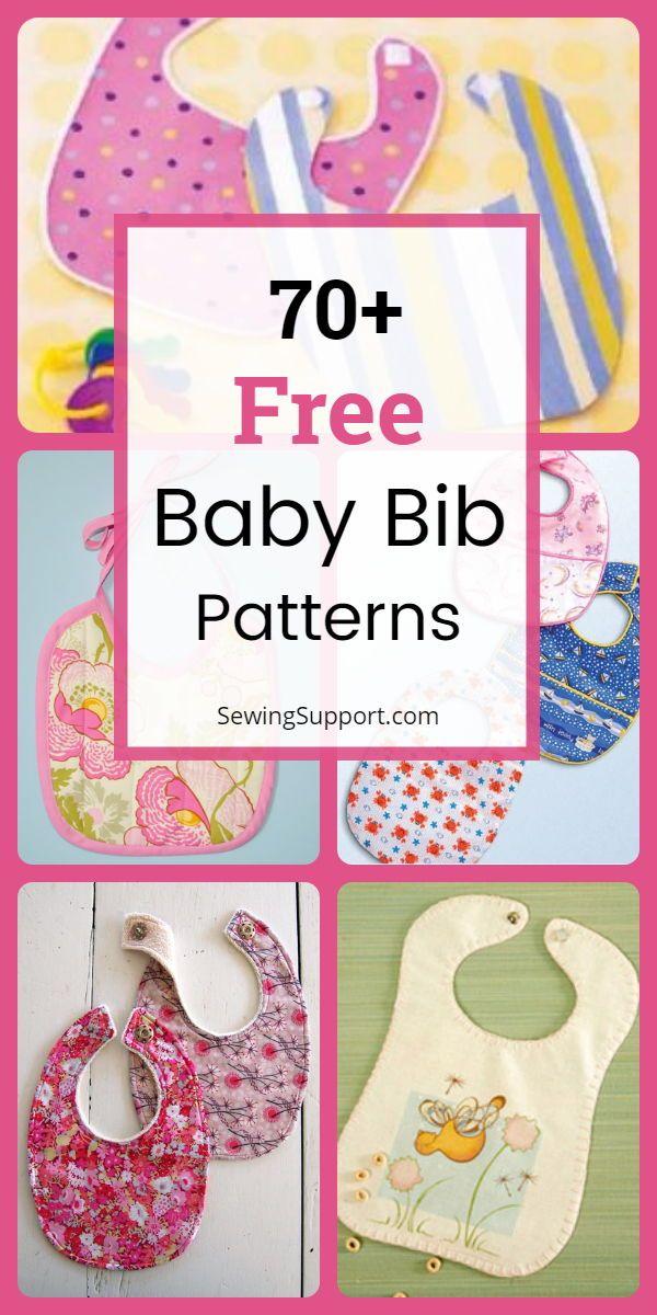 70 Free Baby Bib Patterns Baby Bibs Patterns Diy Baby