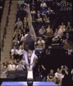 and the award for the best way to avoid an embarrassing moment goes to...(gif)
