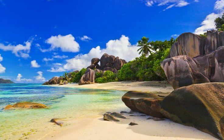 Enjoy the Anse Source d'Argent beach
