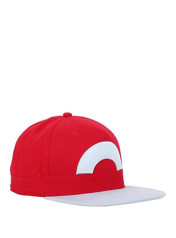 Pokémon Red Trainer Hat  e8a1762d7db8