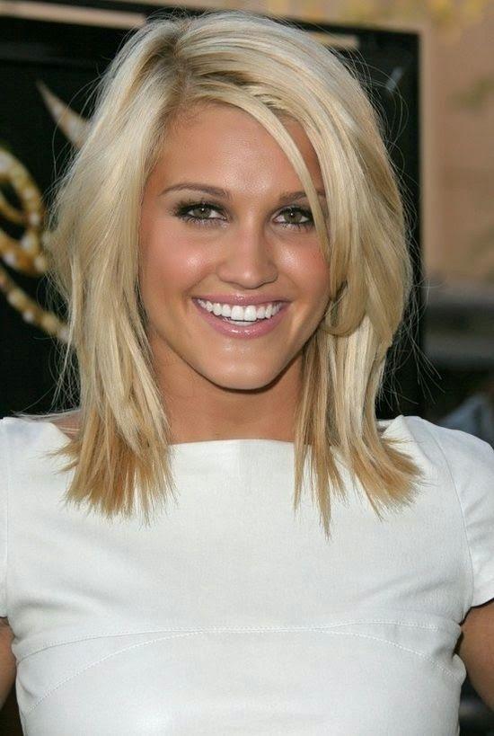 Kapsel voor dun haar op schouderlengte - kapsels halflang dun haar