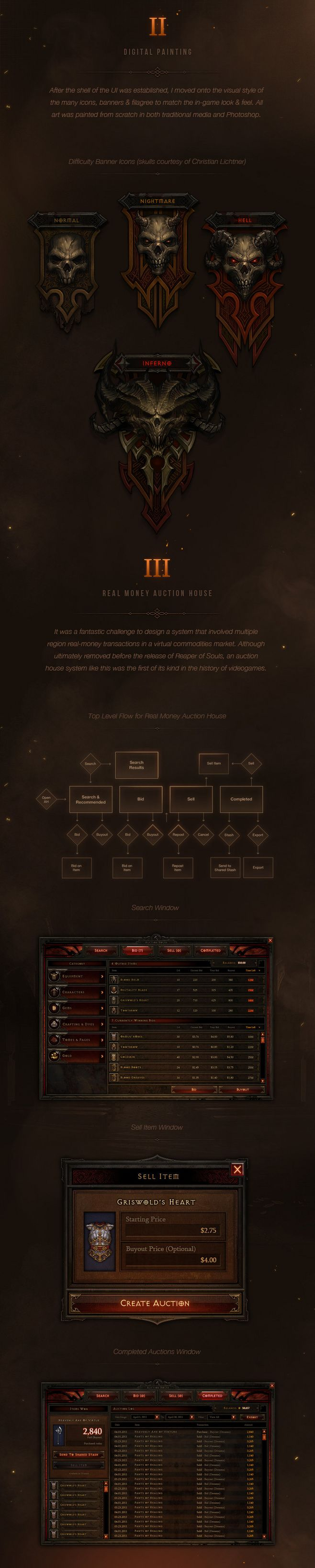 Diablo III UI Art & ...