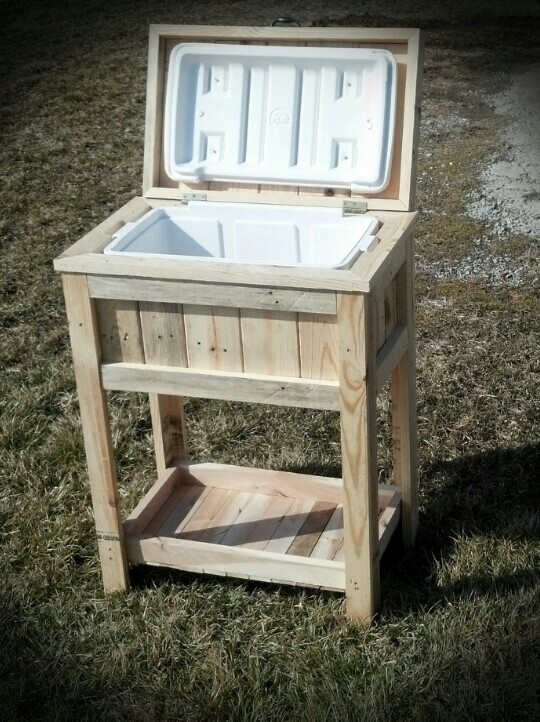 Cooler Made From Pallets Projects From Pallets