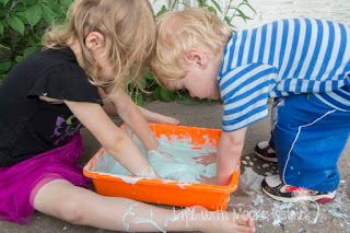 Bubble Dough to Bubbly Oobleck - Enchanted Homeschooling Mom