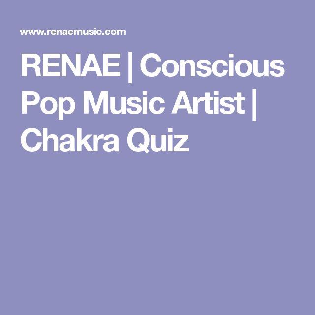 RENAE | Conscious Pop Music Artist | Chakra Quiz