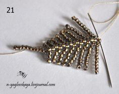 Simple technique - detailed picture tute.  #Seed #Bead #Tutorials
