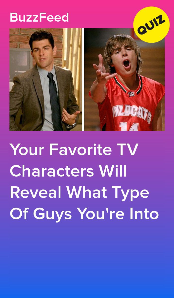 Your Favorite TV Characters Will Reveal What Type Of Guys