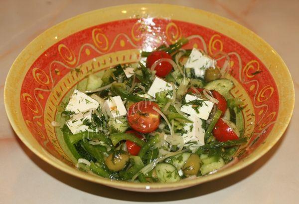 Фотография греческого салата