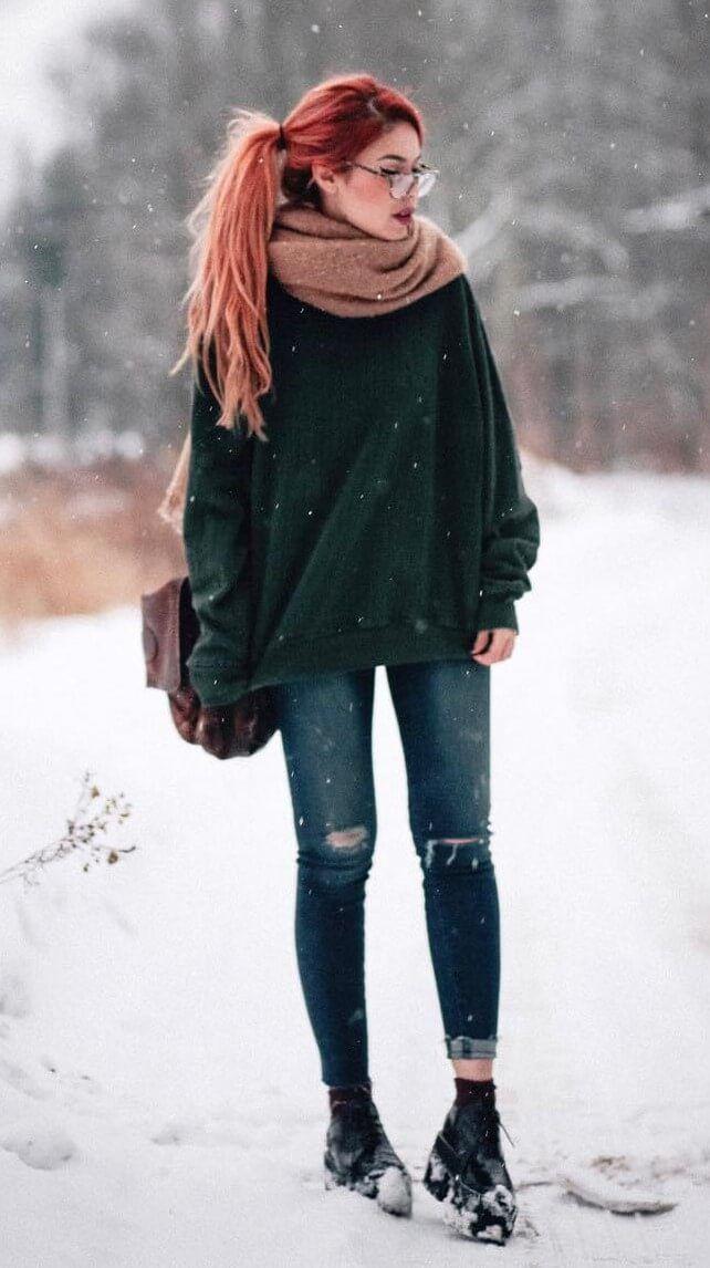 Die besten 34 Outfit-Ideen für diesen Winter   – Outfits