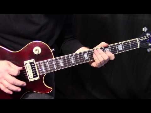 """how to play """"Whole Lotta Love"""" by Led Zeppelin - rhythm guitar lesson - YouTube"""