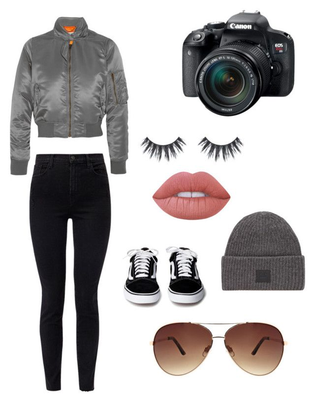 """""""Pista"""" by olahtory on Polyvore featuring J Brand, Balenciaga, Ashley Stewart, Acne Studios, Lime Crime and Eos"""