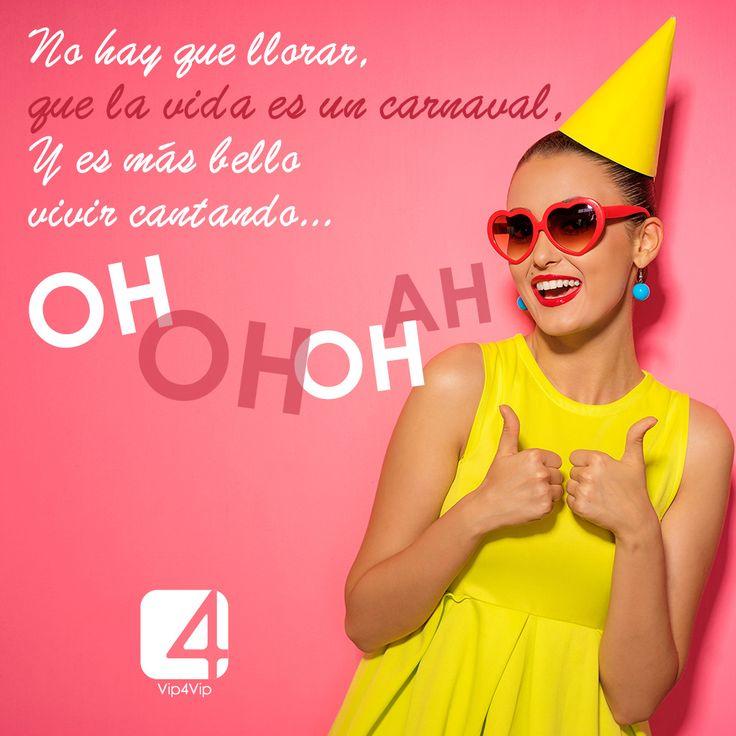 Keep Calm ... is Carnaval! ¡Feliz Domingo!