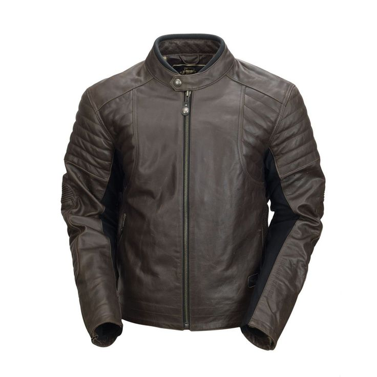 Roland Sands Jacket Bristol Tobacco Brown High Quality Leather Motorcycle Jacket Buy Now At