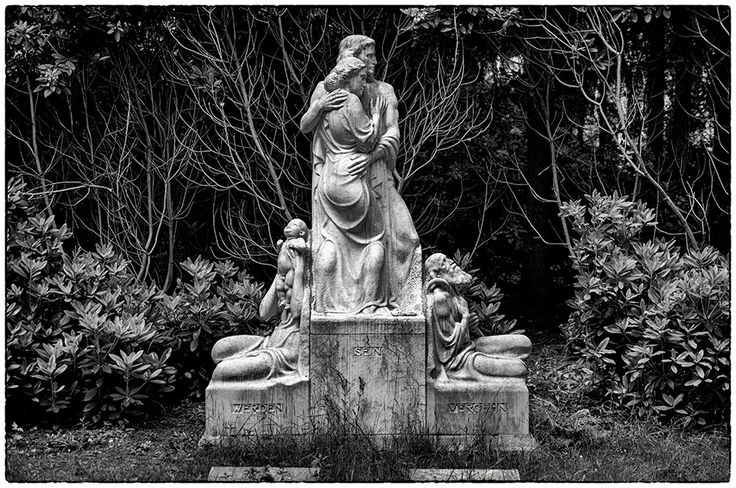 Werden – Sein – Vergehen · Grabmal Albrecht (1915) · Friedhof Ohlsdorf #arthurbock #1915 #friedhof #ohlsdorf