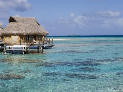 Pearl Beach Resort, Tikehau, Tuamotu Archipelago, French Polynesia Islands Photographic Print by Sergio Pitamitz at Art.com