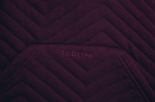10 Deep / Box Truck Quilted Hoodie  Burgundy / Garments / 2015