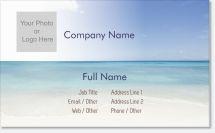 beach ocean Premium Business Cards