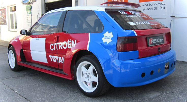 Citroen ZX - design and wrap.