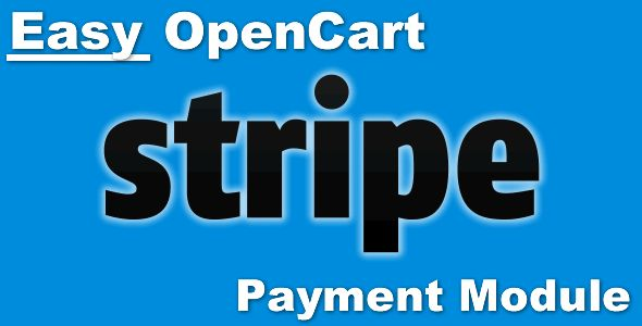 Easy Opencart Stripe Payment Module . ::: NEW! Now Supports Journal2's Quick Checkout!! (Only on the OpenCart 2.x version)::: NEW! Now includes support for OpenCart 2.0.x through 2.3.x!