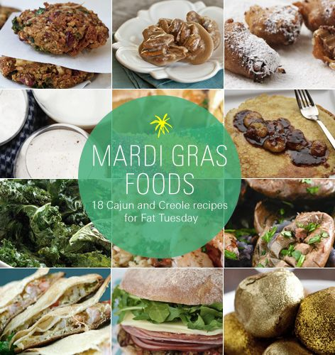 Mardi Gras Foods: 18 Cajun and Creole recipes for Fat Tuesday