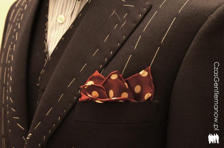 III przymiarka - jeszcze jeden detal | Third suit fitting - one more detail