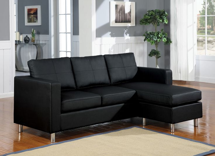 Small Leather Sectional sofa - Popular Interior Paint Colors Check more at http://www.tampafetishparty.com/small-leather-sectional-sofa/