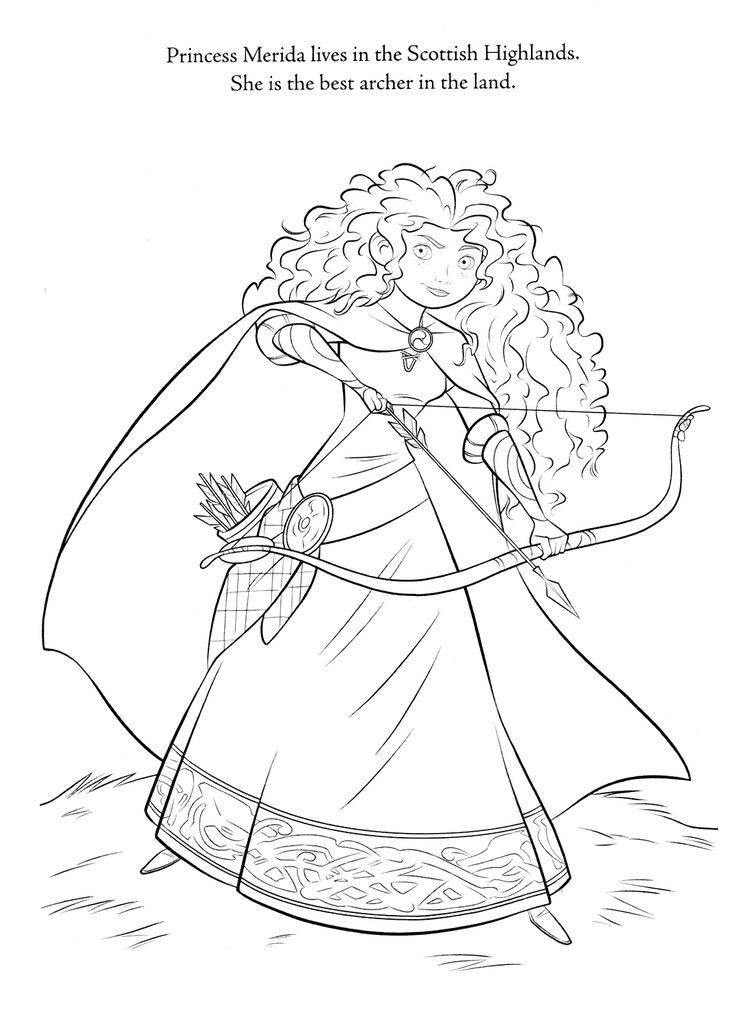 Disney Brave Coloring Pages Printable Sheets For Kids Get The Latest Free Images Favorite To