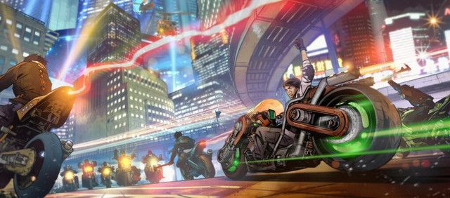 """Crunchyroll - More Unused Concept Art From Live Action """"Akira"""" Revealed"""