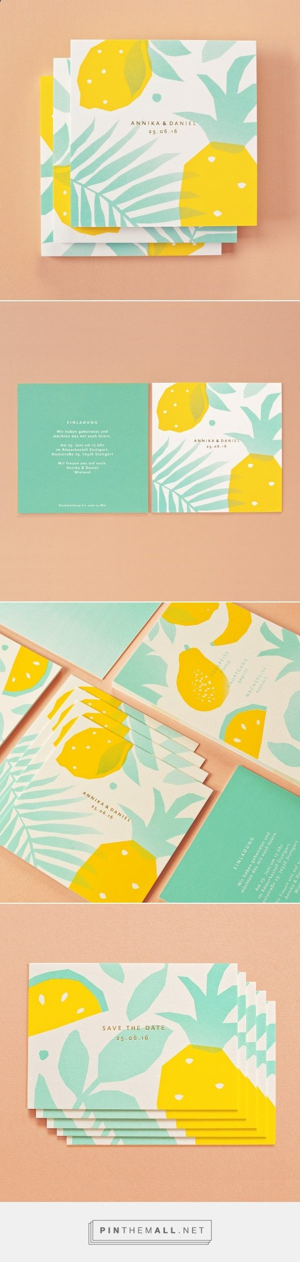 Tropical Wedding by Sunda Studio | Fivestar Branding Agency – Design and Branding Agency  Inspiration Gallery ツ➧ http://www.diverint.com/imagenes-comicas-situaciones-movil