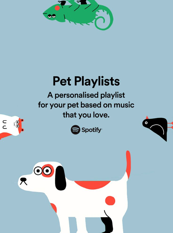 A musicfilled treat for your pet. Get your Pet Playlist
