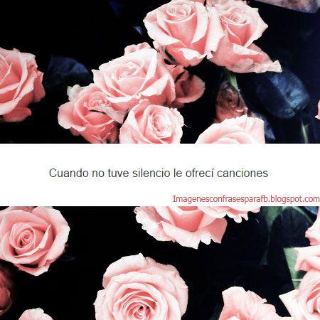 Imagenes Bonitas Con Flores Y Frases Frases Frases Y Flowers