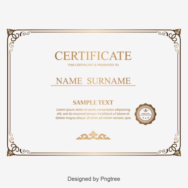 Certificate Border Design Png Certificate Border Certificate Design Template Certificate Background