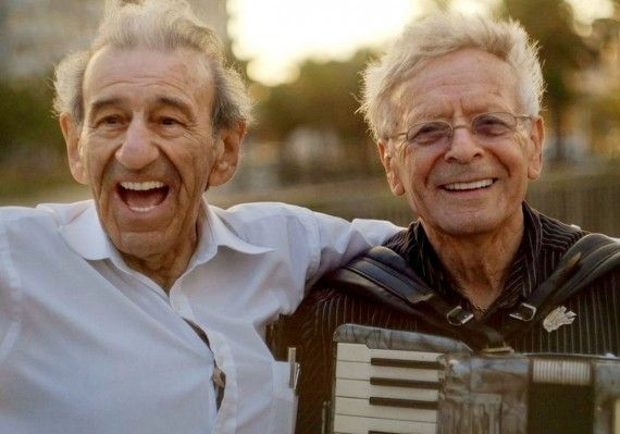 "Meet Saul Dreier and Reuwen (""Ruby"") Sosnowicz, the two members of the ""Holocaust Survivor Band."""