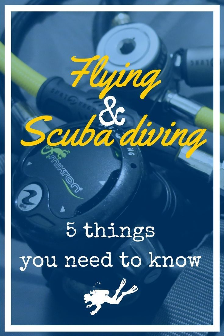 Flying and Scuba diving - 5 things you need to know before taking the plane with your scuba diving gear - World Adventure Divers - read more on https://worldadventuredivers.com/2015/04/06/flying-scuba-diving-5-things-you-need-to-know/ #ScubaDivingEquipmentandSites